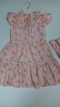 Детское платье р.110-134