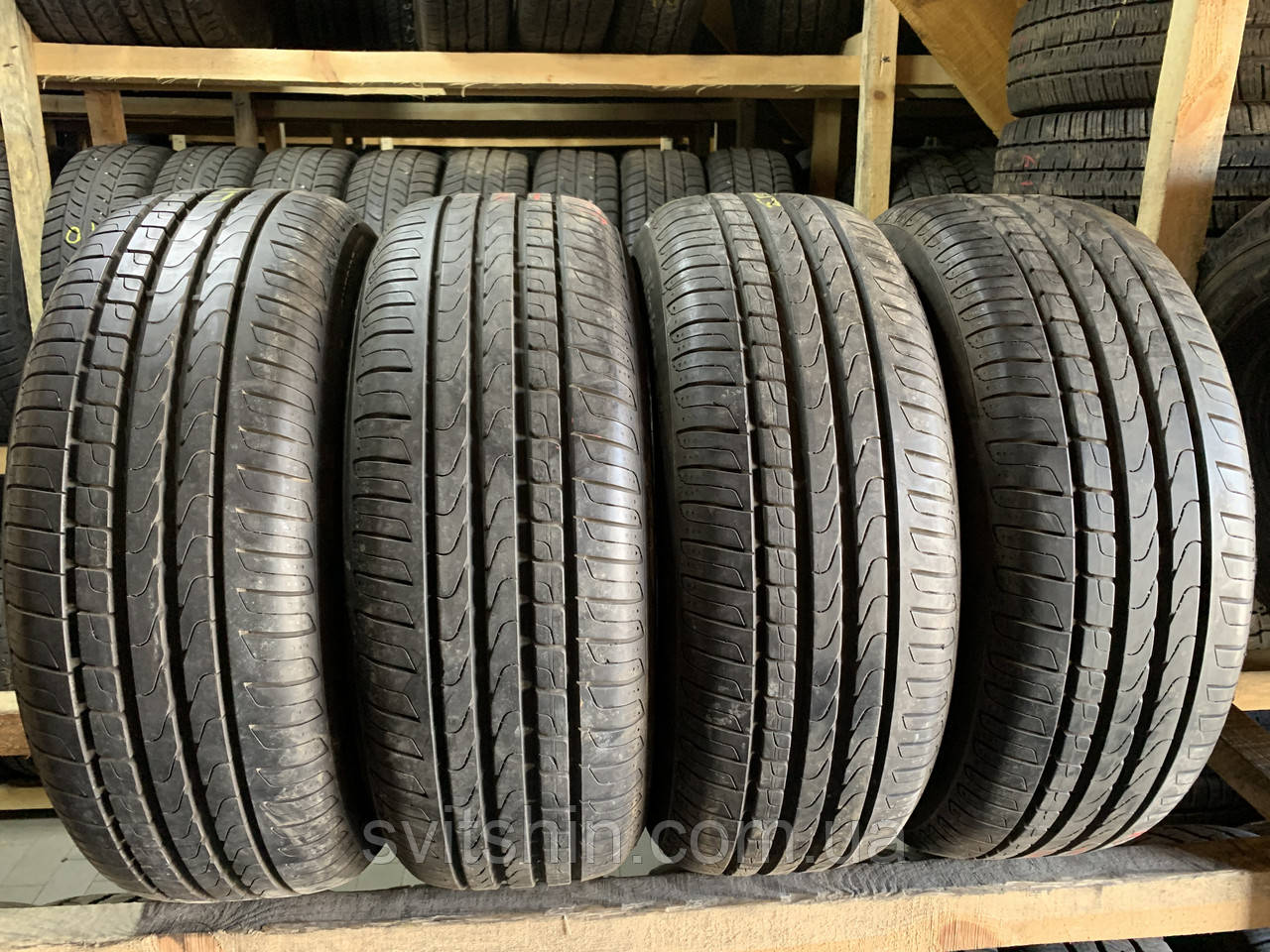 Літні шини 205/55R16 91W Pirelli Cinturato P7 6.5мм RSC ранфлет 2/4шт