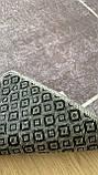 """Безкоштовна доставка!Турецький килим у спальню """"Square Fume"""" 80 на 200 см, фото 8"""