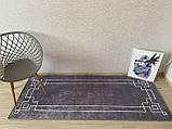 """Безкоштовна доставка!Турецький килим у спальню """"Square Fume"""" 80 на 200 см, фото 2"""