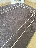 """Безкоштовна доставка!Турецький килим у спальню """"Square Fume"""" 80 на 200 см, фото 4"""