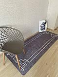 """Безкоштовна доставка!Турецький килим у спальню """"Square Fume"""" 80 на 200 см, фото 3"""