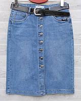 """Спідниця жіноча джинсова на гудзиках, розміри 30-36 """"RELUCKY"""" купити недорого від прямого постачальника"""