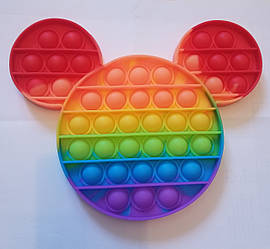 """Сенсорна іграшка Поп іт, pop it """"микимау"""" з рефлеными, поп іт антистрес, поп-іт, (pop It)"""