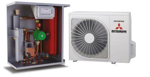 Тепловой насос воздух-воздух мицубиши