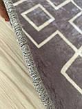 """Безкоштовна доставка!Турецький килим у спальню """"Square Fume"""" 80 на 200 см, фото 7"""