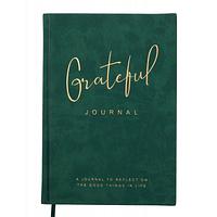 Блокнот BUROMAX деловой Grateful A5 без линования 96 листов обложка из искус (BM.295019-16)