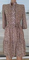 Женское молодёжное шифоновое платье.