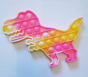 "Сенсорна іграшка Поп іт, pop it ""динозаврь"" з рефлеными, поп іт антистрес, поп-іт, (pop It)"