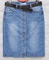 """Спідниця жіноча джинсова на гудзиках, розміри 28-33 """"RELUCKY"""" купити недорого від прямого постачальника"""