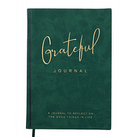 Блокнот BUROMAX ділової Grateful A5 в лінійку 96 аркушів обкладинка із мистецтві (BM.295219-16)