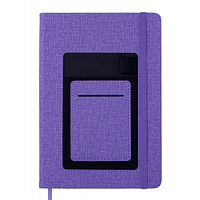 Блокнот BUROMAX деловой Comfort A5 в клетку 96 листов обложка из искусственн (BM.295109-07)