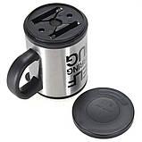 Чашка мешалка автоматическая с вентилятором Self Stirring Mug кружка самомешалка на батарейках, фото 8
