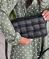 Женская сумка из натуральной кожи кроссбоди Италия Люкс плтенка модные сумки весна лето 2021, фото 1
