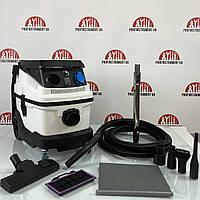 Профессиональный строительный пылесос с аквафильтром Profinstrument IPX4