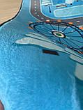 """Безкоштовна доставка! Килим в дитячу """"Колесо огляду"""" утеплений килимок 190 на 240 см, фото 7"""