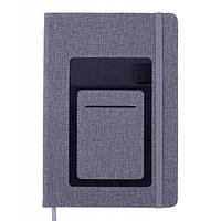 Блокнот BUROMAX деловой Comfort A5 без линования 96 листов обложка из искусс (BM.295009-09)