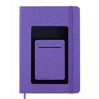Блокнот BUROMAX деловой Comfort A5 без линования 96 листов обложка из искусс (BM.295009-07)