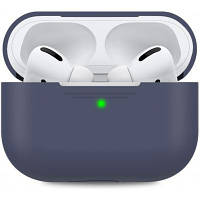 Чехол MakeFuture Apple AirPods Pro Silicone Blue (MCL-AAPBL)
