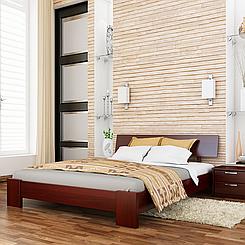 Кровать деревянная полуторная Титан (бук)
