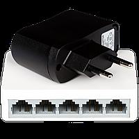 Коммутатор сетевой GreenVision GV-001-H-05P