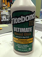Клей для дерева Titebond® III Ultimate (D4) 946мл.