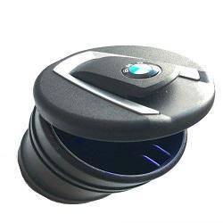 Попільниця чорна з підсвіткою BMW (мала) 3554