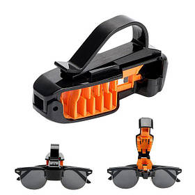 """Підставка під окуляри прищіпка чорна - Оранж. """"3R-2102"""" (60шт/ящ)"""