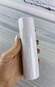 Цінник 26*12 мм 5 метрів Білі