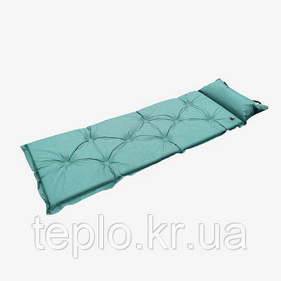 Надувной матрас для кемпинга, Бирюзовый