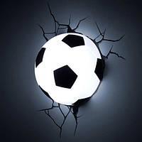 """3D Светильник """"Футбольный Мяч"""", Football Light, фото 1"""
