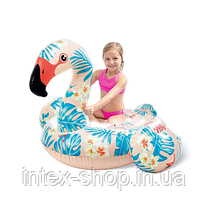 Дитячий надувний пліт для катання Intex 57559 «Фламінго» (142 х 137 х 97 см), фото 3