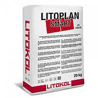Цементный тиксотропный выравнивающий состав быстрого схватывания и высыхания LITOPLAN SMART. Litokol