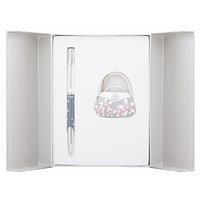 Ручка кулькова Langres набір ручка + гачок для сумки Sense Сірий (LS.122031-09)