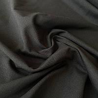 Тканина з тефлоновим просоченням однотонна чорна, ш.180 см, фото 1