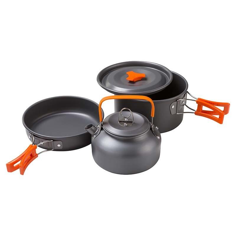 Набор туристической посуды  MX-308