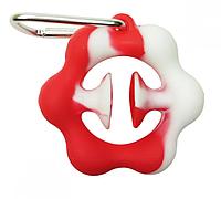 "Игрушка-антистресс ""POP-IT"" PPT-Ex (Red-White) Эспандер Красно-Белый"