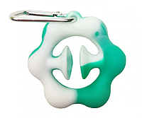 """Игрушка-антистресс """"POP-IT"""" PPT-Ex (Turquoise-White) Эспандер Бирюзово-Белый"""