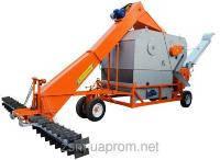 Мобильный ЗАВ - универсальные зерноочистительные машины-зернометатели и зернопогрузчики