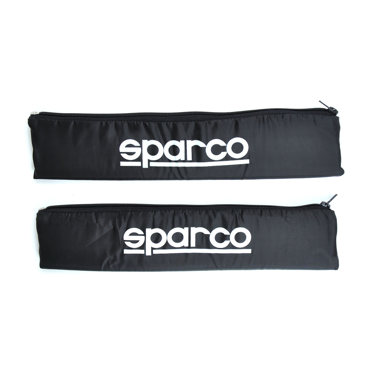 """Подушка на ремень безопасности""""Sparco"""" Черная (2шт)"""
