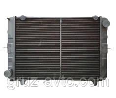 Радиатор водяного охлаждения Газель 2-х рядный с ушами медный старого образца ИРАН