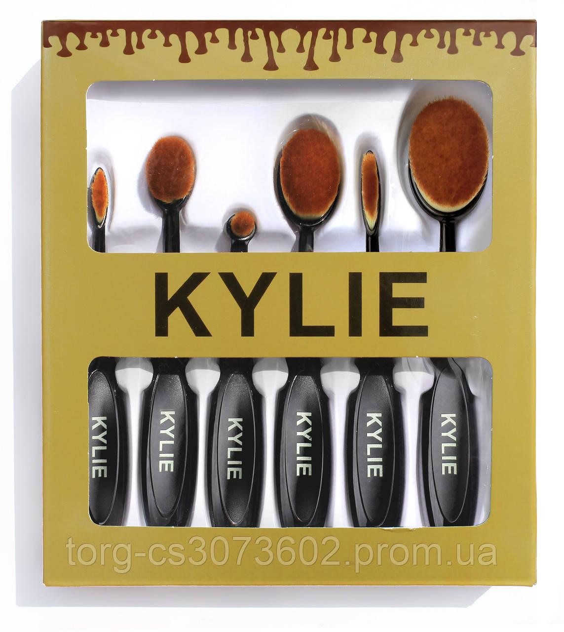 Набір кистей-щіток Kylie (6 штук)