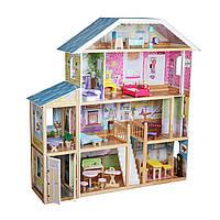 Кукольный дом для барби.Домик кукольный виллаXXL.Большой кукольный домик для кукол