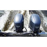 Лодочный мотор Yamaha FT50JETL -  подвесной мотор для яхт и рыбацких лодок, фото 3
