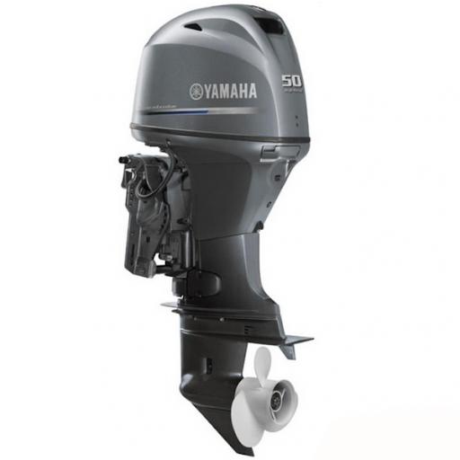 Лодочный мотор Yamaha FT50JETL -  подвесной мотор для яхт и рыбацких лодок