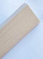Плинтус пластиковый Идеал Деконика 85 мм 274 Cосна Северная, с мягкими краями, высокий, с кабель каналом