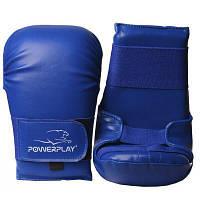 Перчатки для карате PowerPlay 3027 M 3,7 oz Blue (PP_3027_M_Blue)