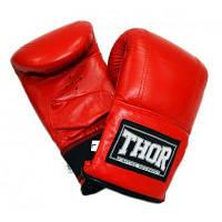 Снарядные перчатки THOR 605 L Red (605 (PU) RED L)