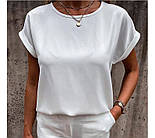 "Летняя блузка футболка свободного кроя ""Moment"", фото 10"
