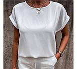 """Річна блузка футболка вільного крою """"Moment"""", фото 4"""